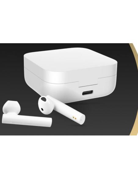 Auriculares blancos Xiaomi Mi True Wireless Earphones 2 Basic