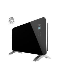 Ready Warm 6720 Crystal Connection Cecotec Radiador Eléctrico Wi-Fi 1500W Negro