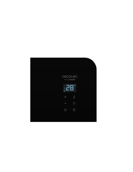 pantalla radiador calefactor negro 25 metros cuadrados