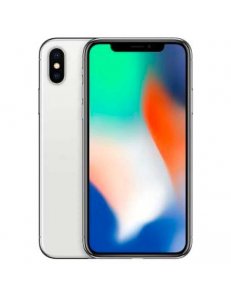 IPHONE X 64GB plata blanco bf20
