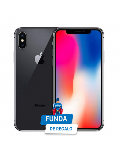 IPHONE X 256GB NEGRO reacondicionado