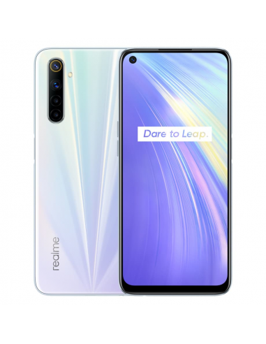 Realme 6 Blanco 4/64GB Libre móvil 2020