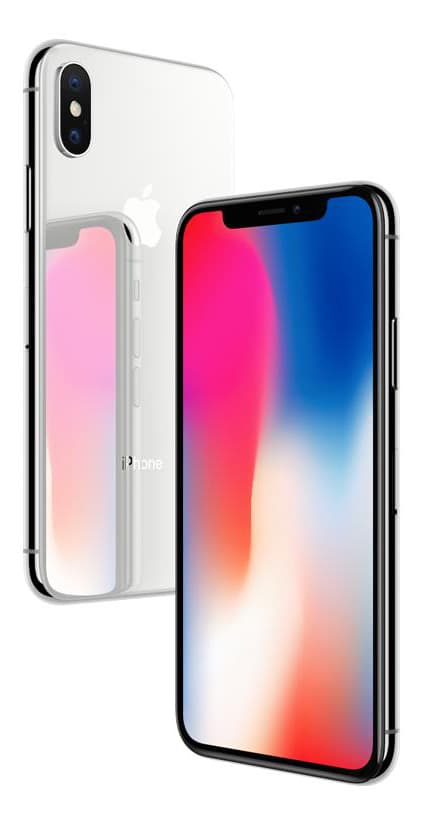 pantalla retina iphone x blanco