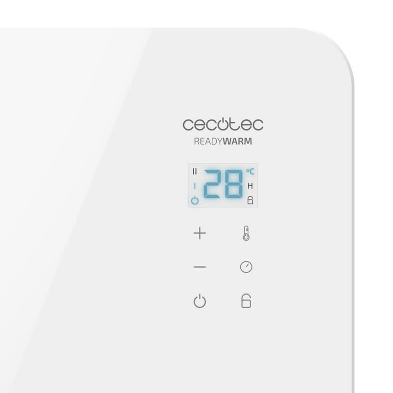 ventajas Ready Warm 6650 Crystal Connection Cecotec Radiador Eléctrico Wi-Fi 1000W