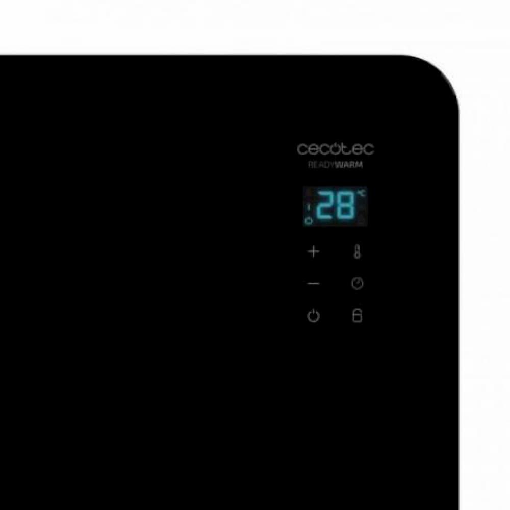 ventajas Ready Warm 6670 Crystal Connection Cecotec Radiador Eléctrico Wi-Fi 1000W