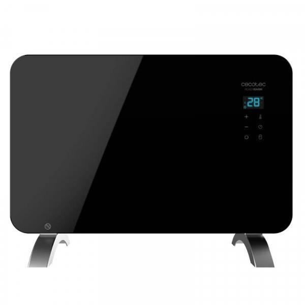 precio Ready Warm 6670 Crystal Connection Cecotec Radiador Eléctrico Wi-Fi 1000W Negro