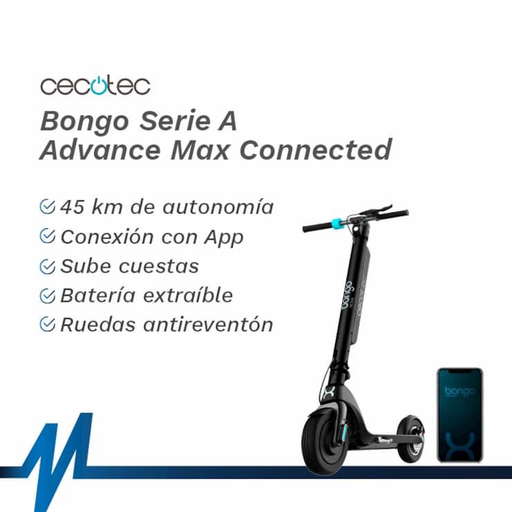 Características y ventajas del patinete Cecotec Bongo Serie A Advance Max Connected